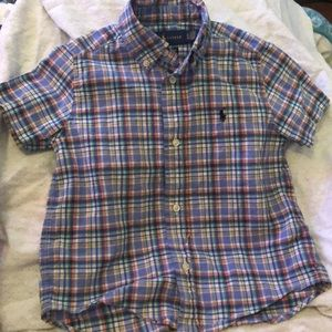 3T boys oxford polo shirt